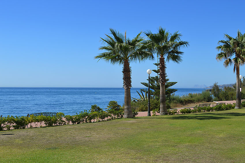 Apartment in Estepona Front line beach location
