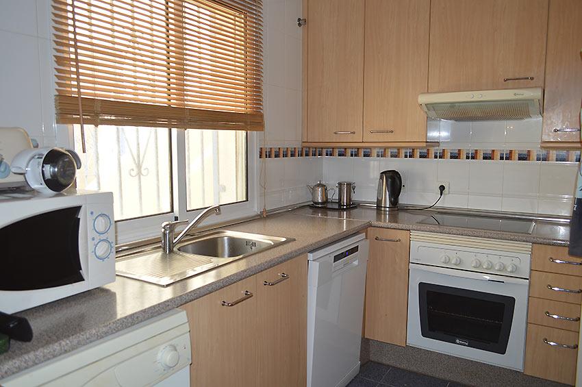 Apartamento en Estepona Fully fitted kitchen