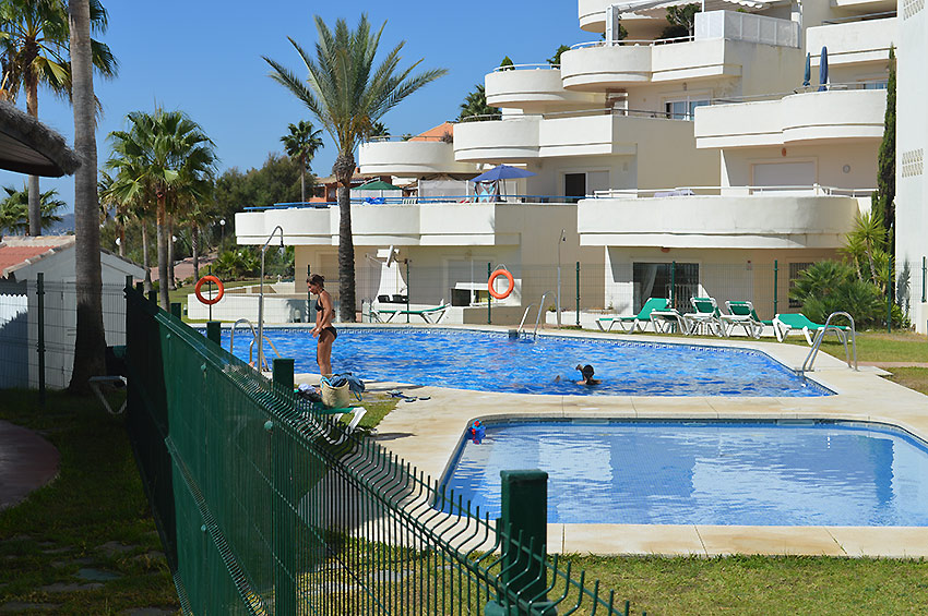 Apartamento en Estepona Shared pool