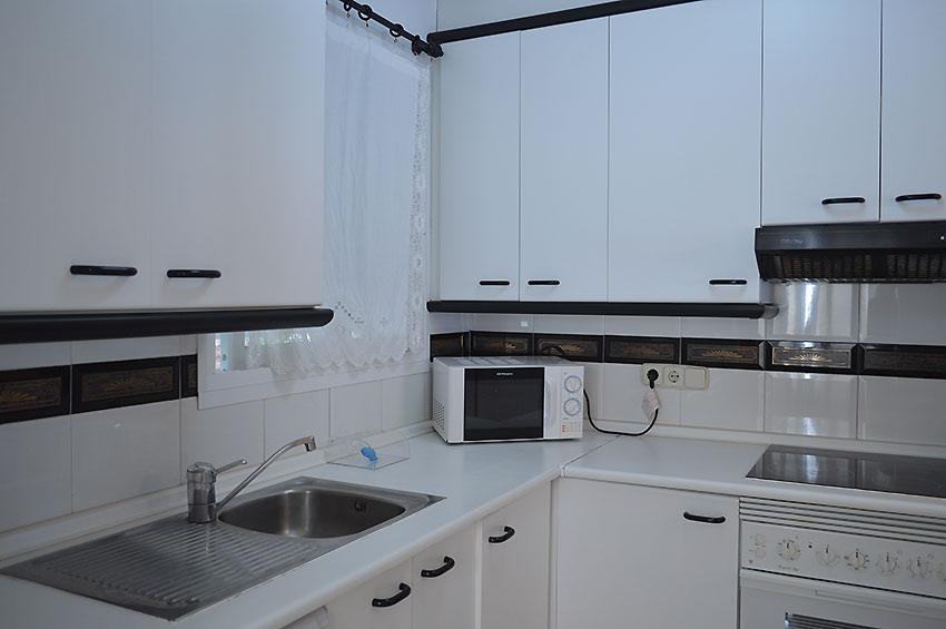Apartment in Estepona Kitchen fully fitted