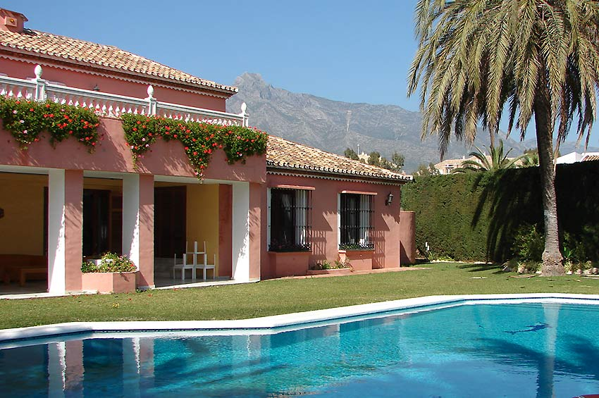 Location Villa Marbella